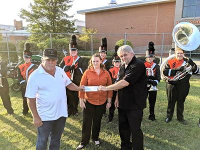 Milton band receives donation