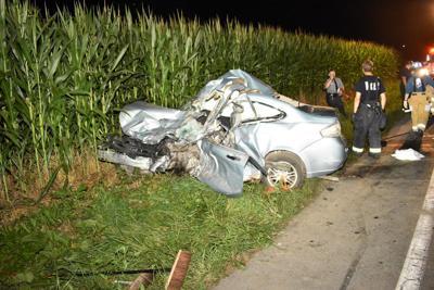 Man killed, 2 seriously injured in crash