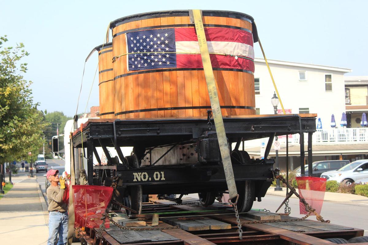Replica railcar returns to Milton