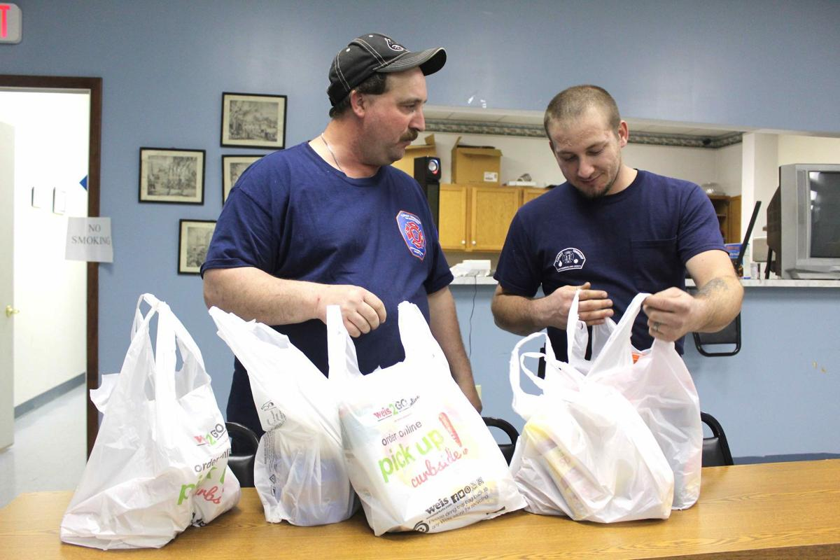 Firefighters to grocery shop for seniors