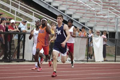 Zimmerman banks 2 golds at districts