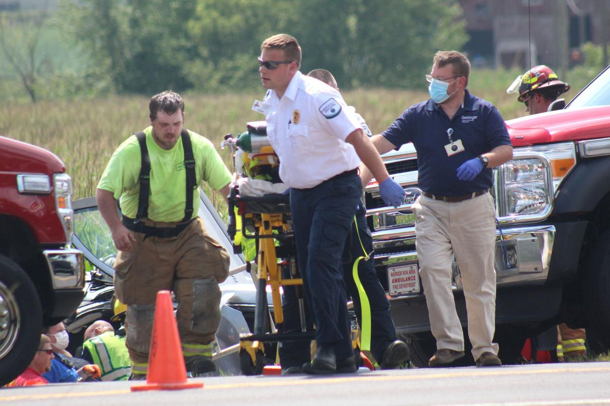 Multiple injuries reported in Montour County crash