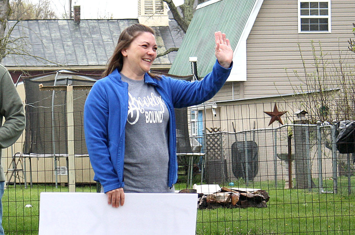 Local LPN returns healthy from work in COVID-19 unit