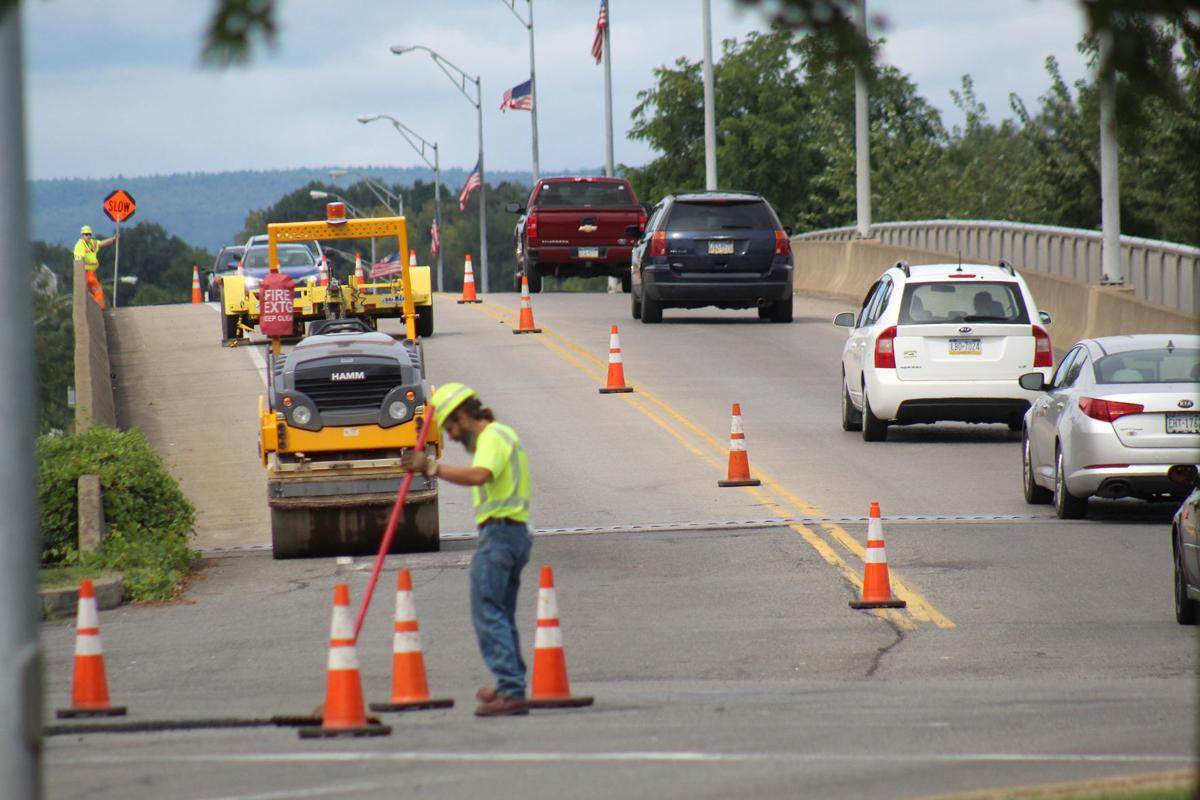 Patching slowed traffic in Milton | Local News | standard