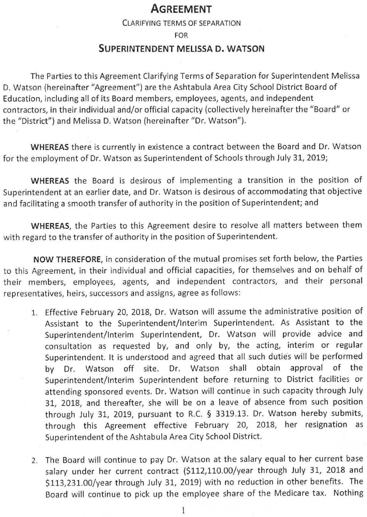 Download PDF AACS Watson Separation Agreement