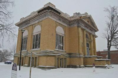 Former Carnegie Public Library up for sale again