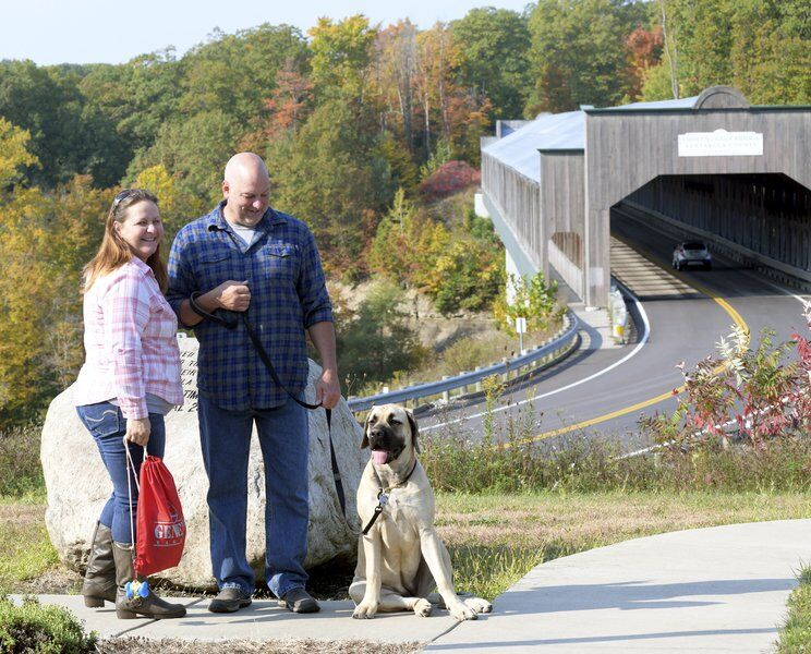 Covered bridges popular; even without festival