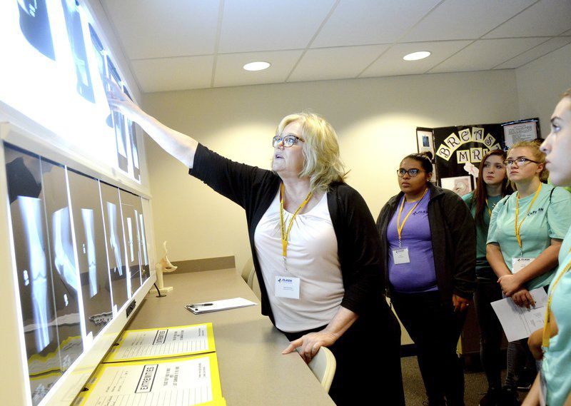 Students get up-close look at a day in health care at KSUA