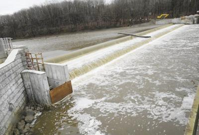 Lamprey barrier construction completed