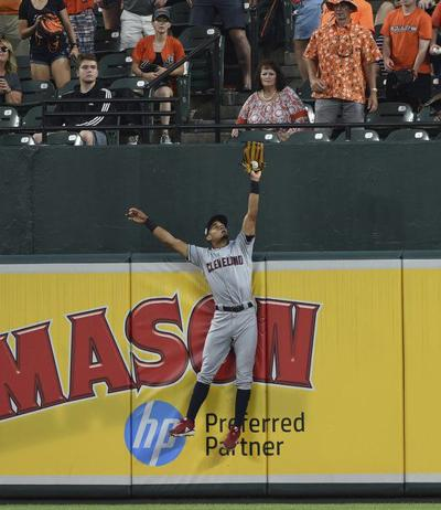 Orioles rough up Clevinger, Indians in 13-0 victory