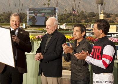 Tim Conway was a jockey's best friend