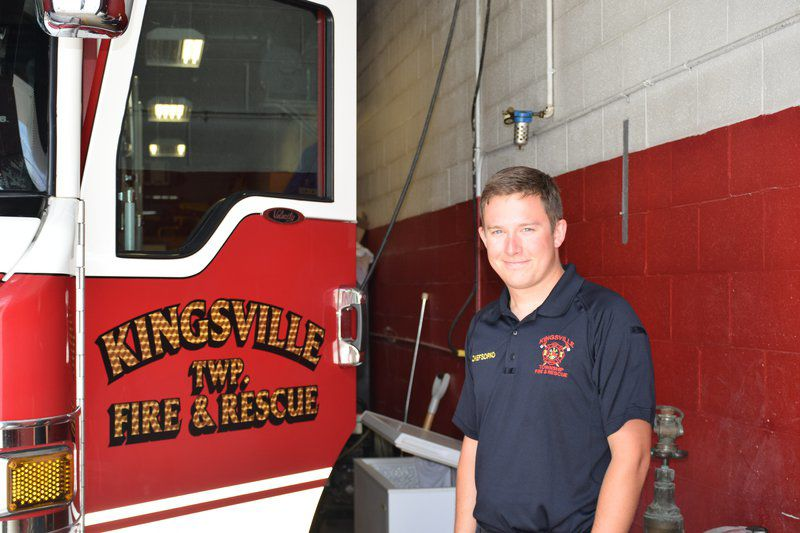New chief takes over in Kingsville