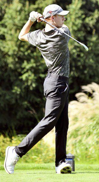 Richmond, Eagles fall short in state golf tournament bid