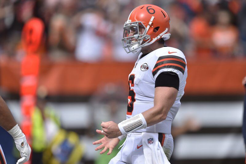 Browns' Mayfield reportedly has torn labrum in left shoulder