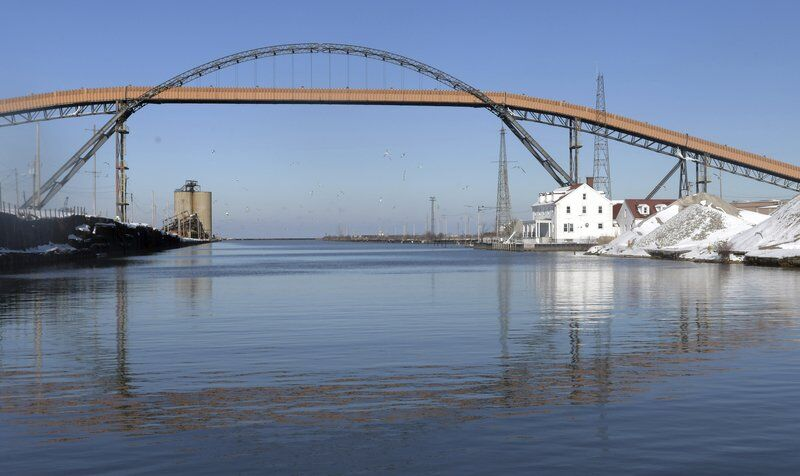 City hopes to save historic coal conveyor in Ashtabula Harbor