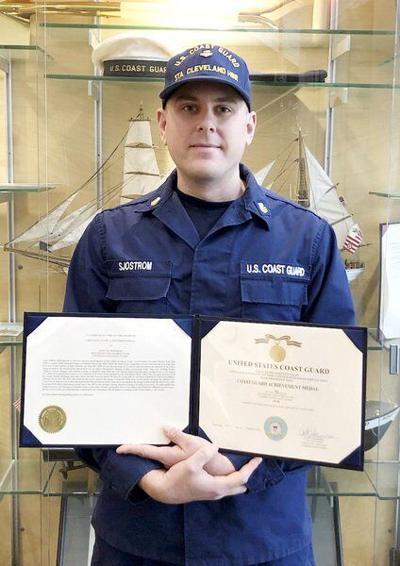 Conneaut native thrives in Coast Guard