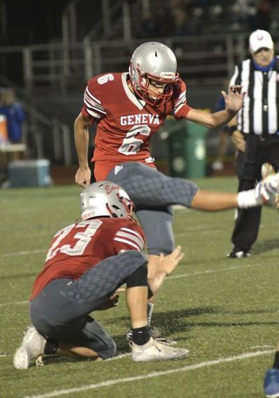 Geneva kicker Yost makes early impression