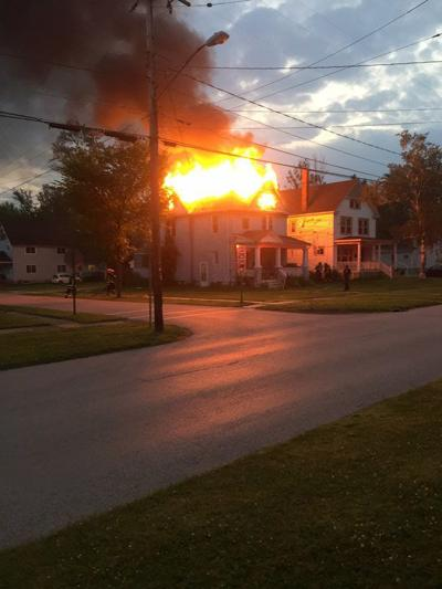 Fire displaces residents