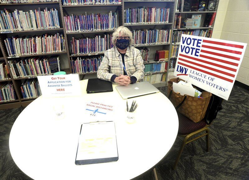 Voter registration deadline Monday