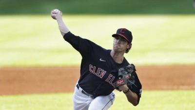 Bieber strikes out 14 as Indians blank Royals 2-0 in opener