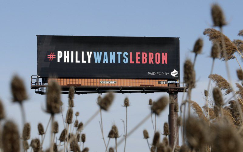 Silly or Philly?: LeBron swats talk of Philadelphia visit