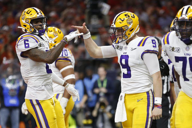 arrives incredible prices a few days away Burrow, LSU cap magical season, beat Clemson 42-25 for title ...