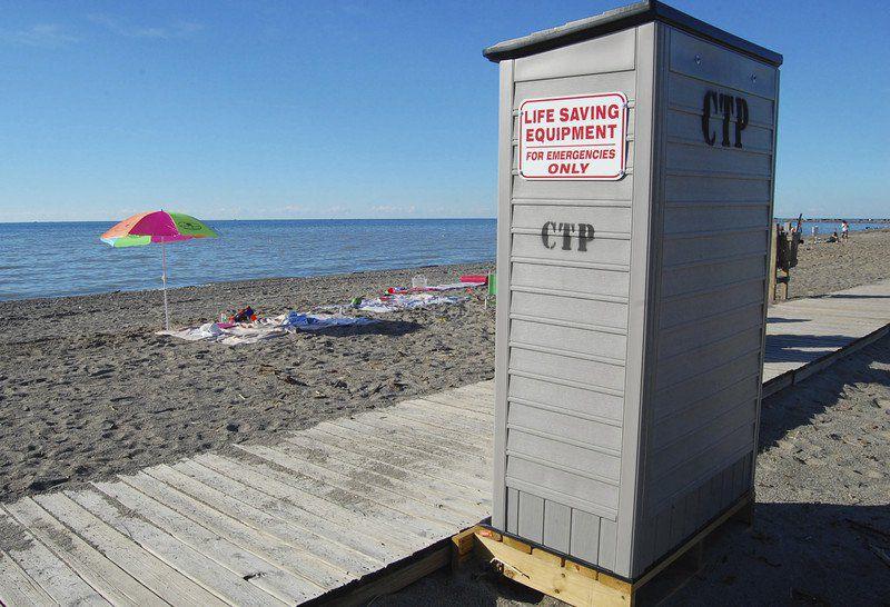 Conneaut Township Parkoffers life-saving gearat its popular beach
