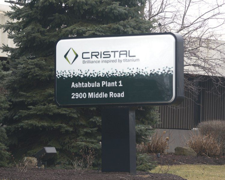 Cristal to be sold INEOS buying Ashtabula complex from Tronox for