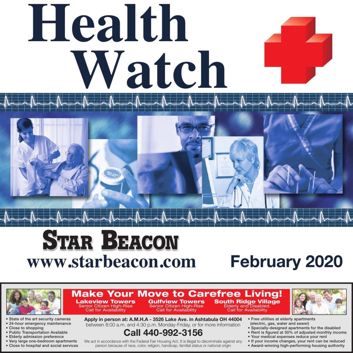 HEALTH WATCH - February 24, 2020