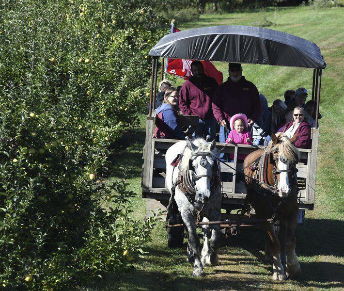 Fall kicks off at orchard festival