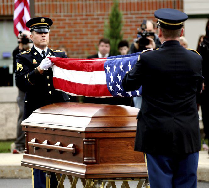Family, friendssay final farewell to Sgt. Thomas Cole Walker