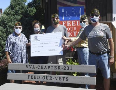 Veterans come out to support Feed our Vets