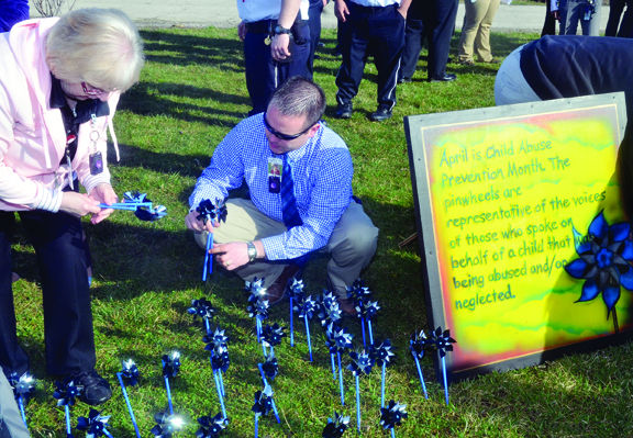 Child Abuse Prevention Rally