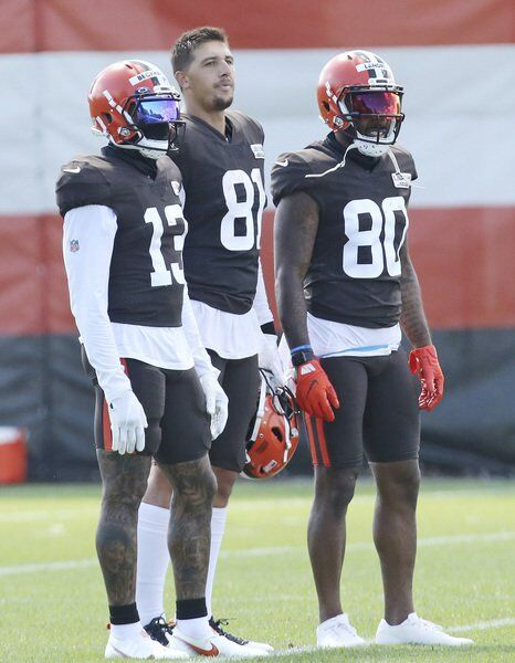 Healthy Beckham, Landry hope for big 2nd season with Browns