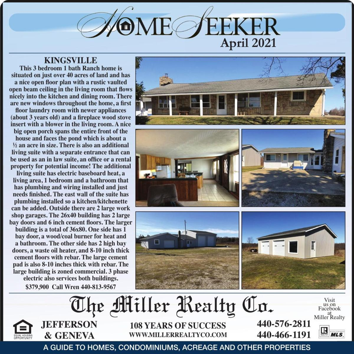 HOMESEEKER — APRIL 2021