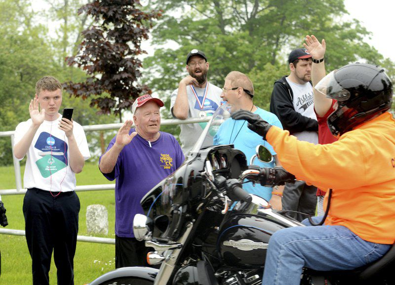 Motorcyclists ride for Special Olympics