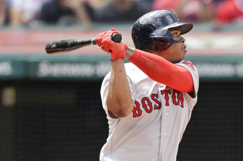 Devers extends hit streak to 8, Red Sox beat Indians 5-1