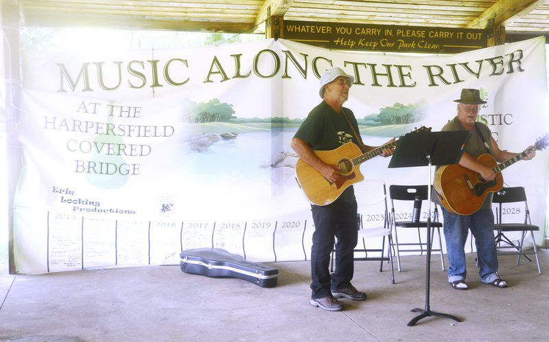 Musicians tune up Harpersfield Metropark