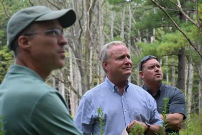 Congressman tours federally funded preserves in county