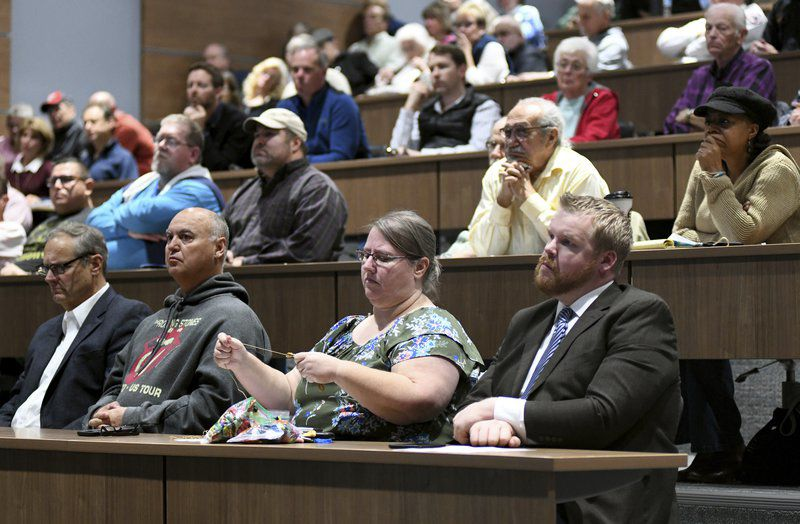 Petmin, local officials, hold town hall