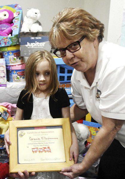 Saybrook girl helps needy