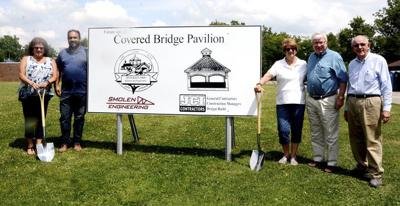 Covered bridge pavilion construction to begin