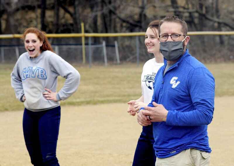 Wrestling coach Sherman shifts gears to softball