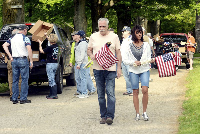 Legion spruces up for Memorial Day