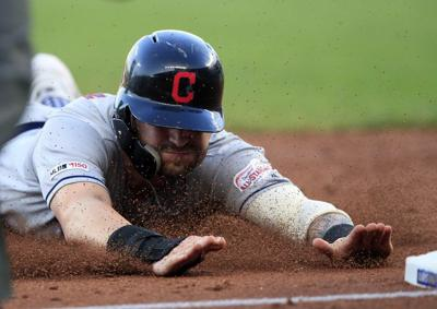 Bauers, bullpen send Indians to 9-5 victory over Royals