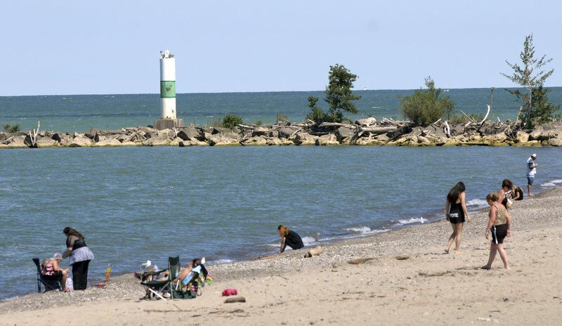 Late summer fun on the lakefront