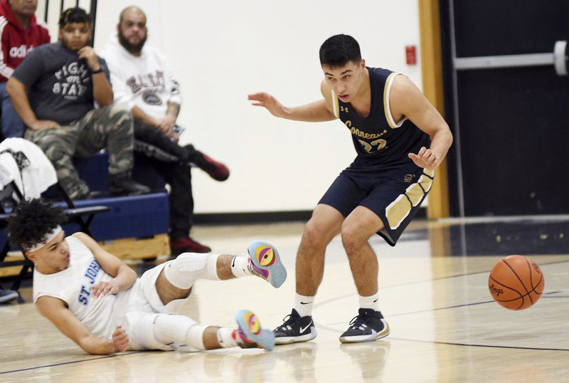 Fast start lifts Spartans past Heralds