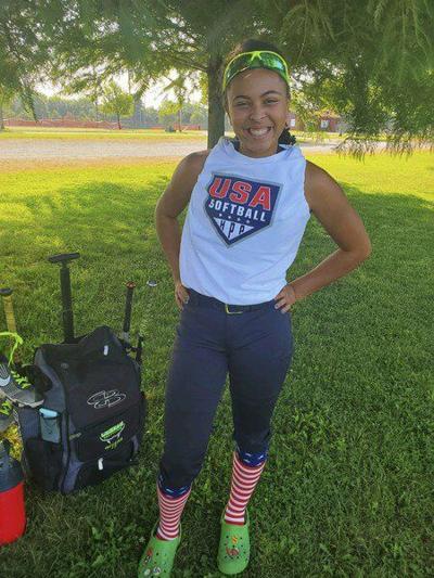 Rogersmakes Team USA Junior Olympic softball team
