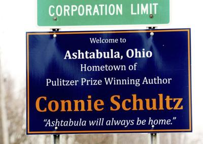 Ashtabula native Connie Schultz honored with signs