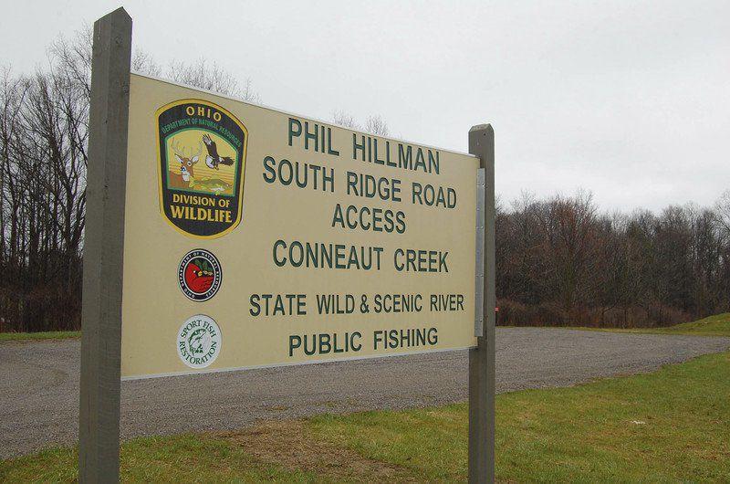 Conneaut Creek access spot open
